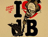 Decibel Magazine's 10th Anniversary poster