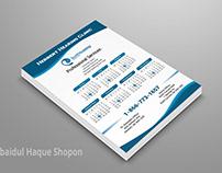 (Free PSD file) Rack Card / Advertisement Poster Design