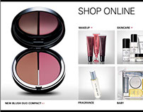 Bobbi Brown Cosmetics Web Site