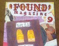 FOUND Magazine Editorial Illustrations