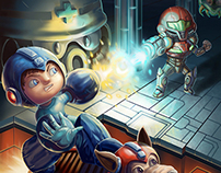 Samus vs Megaman