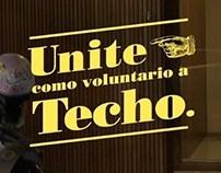 """Techo """"todavía podes ser un ejemplo"""""""