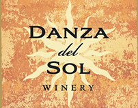 Danza del Sol wine label