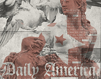 DAILY AMERICA / T-SHIRT GRAPHICS