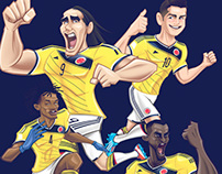FUERZA COLOMBIA!!! World Cup 2014 by MickeR®