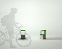 """Mobiliario urbano para Parque """"La Hoja"""""""