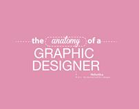 The Anatomy of a Graphic Designer (female)