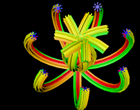 Extruding and animating primitive splines