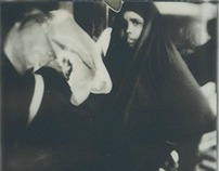 Lode All'Inviolato (impossible/polaroid BW)