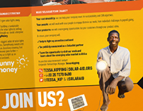 SolarAid solar sector flyer