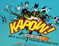 KAPOW! comics return to EMU!