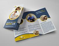 Veterinarian Clinic Tri-Fold Brochure Template Vol.2