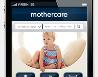 Mothercare mobile store