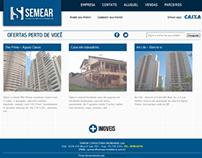 Semear Imóveis - Site