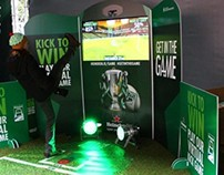 Heineken Interactive Kick Game