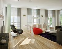 Architectural design and visualisation /INTERIOR/