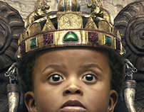 Little African king
