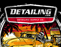 Illustration design for Detailing Co. - USA