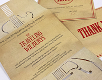 Traveling Wilburys Invitation