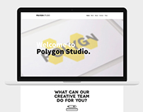 Polygon Studio Web Design