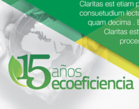 Brochure Online - 15 años de ecoeficiencia Arcor.