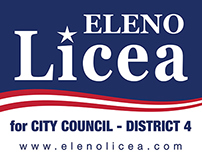 Eleno Licea 2014 City Council Campaign