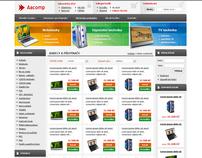Aacomp web design