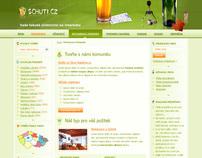 Beer community web design