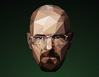 Breaking Flat - Walter White Low Poly
