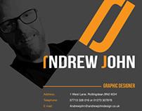 Andrew John Graphic Designer