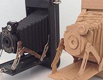 3D paper replica