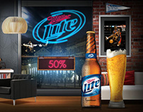 Miller Lite Website Ecuador