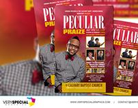 Peculiar PraiZe | Event Postcard