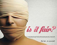 Social Issue Poster | Is It Fair?