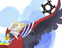 Articles Illustrations for GameBlast