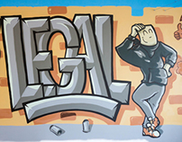 Street Art AXA Porto (WIP)