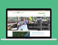 Maya Ka'an, página web