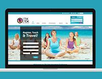 Tik Tok Travel Exchange, página web