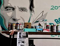 Graffiti workshop for children - Salesianos de Manique