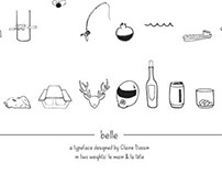 Belle - A Hand Drawn Typeface