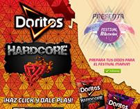 Banners Doritos Hardcore