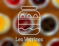 Les Verrines Branding