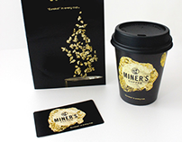 Coffee Cup Loyalty Card + Brochure + Cup