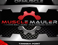 POSTER LABEL for MASTER OF MUSCLE