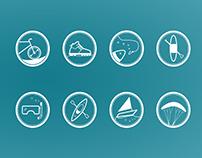 Aktivtrip activity icons