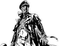 Hellboy's Karl Ruprecht Kroenen By Sergio Sandoval
