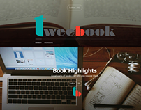 Product Design - Tweebook