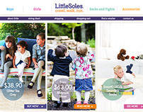 Little Soles E-Commerce Site