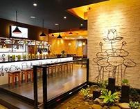 RobinHood restaurant Interior Design