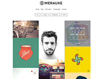 Merauke - Portfolio & Modern Blog Theme